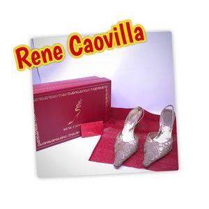 EUC Rene Caovilla  Gold Strappy and Sexy!